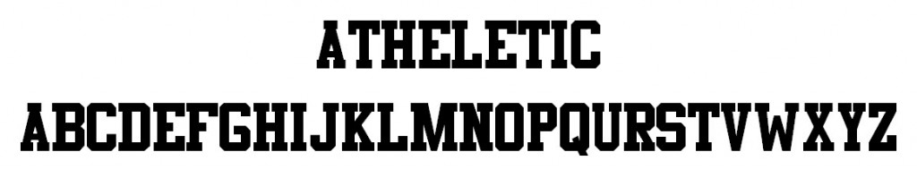 Athletic Font