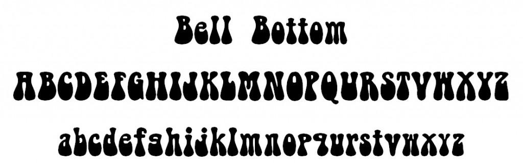 Bell Bottom Font