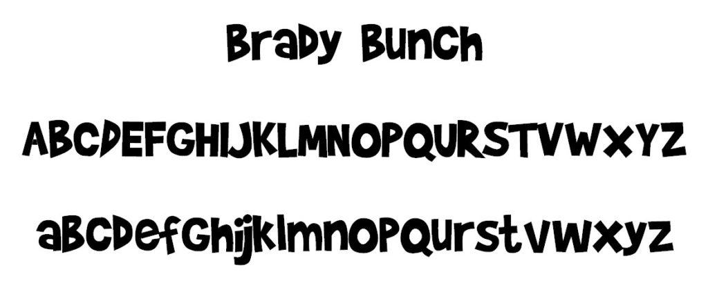 Brady Font