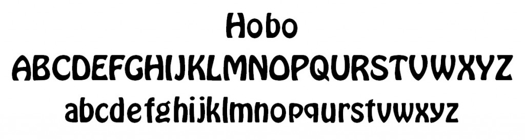 Hobo Font