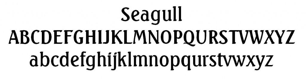 Seagull Font