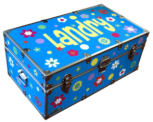 Personalized summer camp trunk